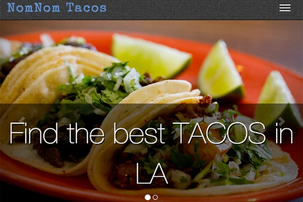 A user driven collection of taco places in LA